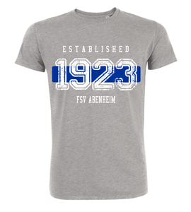 "T-Shirt ""FSV Abenheim Established"""