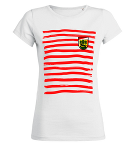"Women's T-Shirt ""FSV Wolfhagen Stripes"""