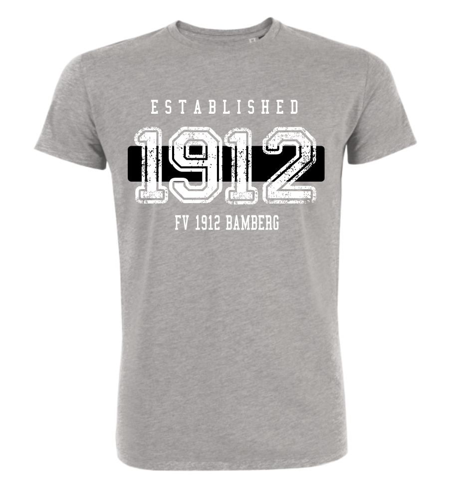 "T-Shirt ""FV 1912 Bamberg Established"""