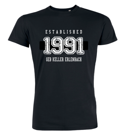 "T-Shirt ""Geb Keller Erlenbach Established"""