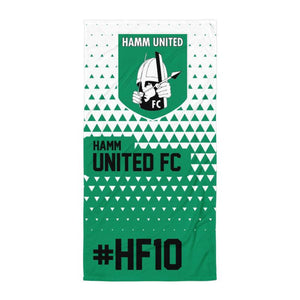 "Handtuch ""Hamm United FC #triangle"""
