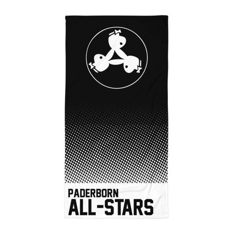 "Handtuch ""Paderborn All-Stars #dots"""