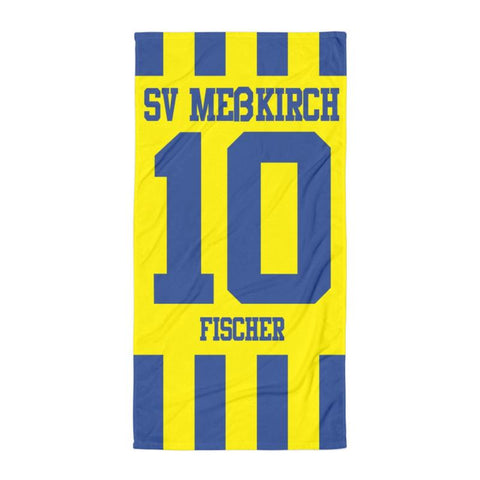 "Handtuch ""SV Meßkirch #stripes"""
