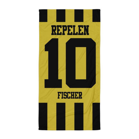 "Handtuch ""TC SG Repelen #stripes"""