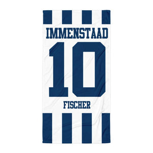 "Handtuch ""TuS Immenstaad #stripes"""