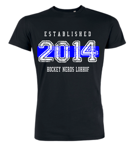 "T-Shirt ""Hockey Nerds Lohhof Established"""
