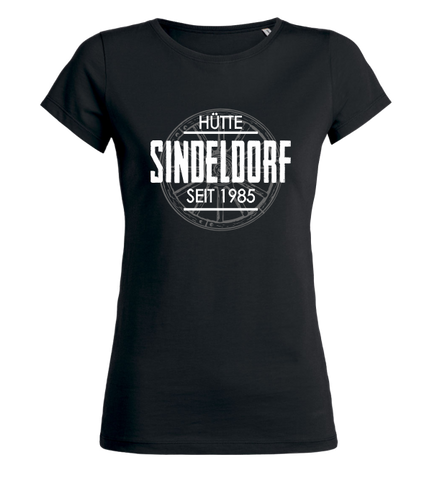 "Women's T-Shirt ""Hütte Sindeldorf Background"""
