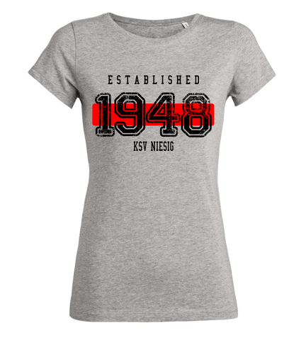 "Women's T-Shirt ""KSV Niesig Established"""