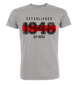 "T-Shirt ""KSV Niesig Established"""