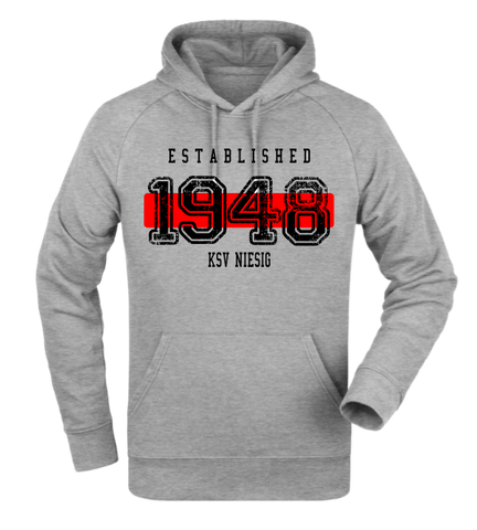 "Hoodie ""KSV Niesig Established"""