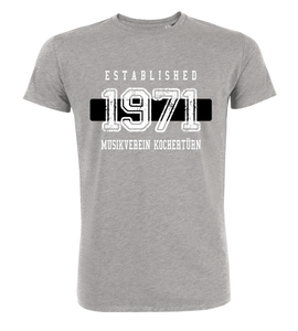 "T-Shirt ""MV Kochertürn Established Black & White"""
