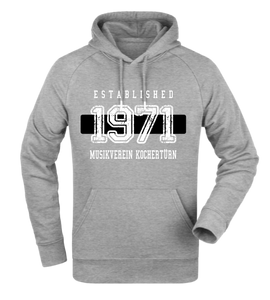 "Hoodie ""MV Kochertürn Established Black & White"""