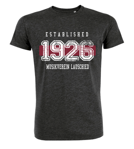 "T-Shirt ""Musikverein Lauschied Established"""