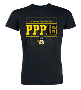 "T-Shirt ""Power Play Pinguine Background"""