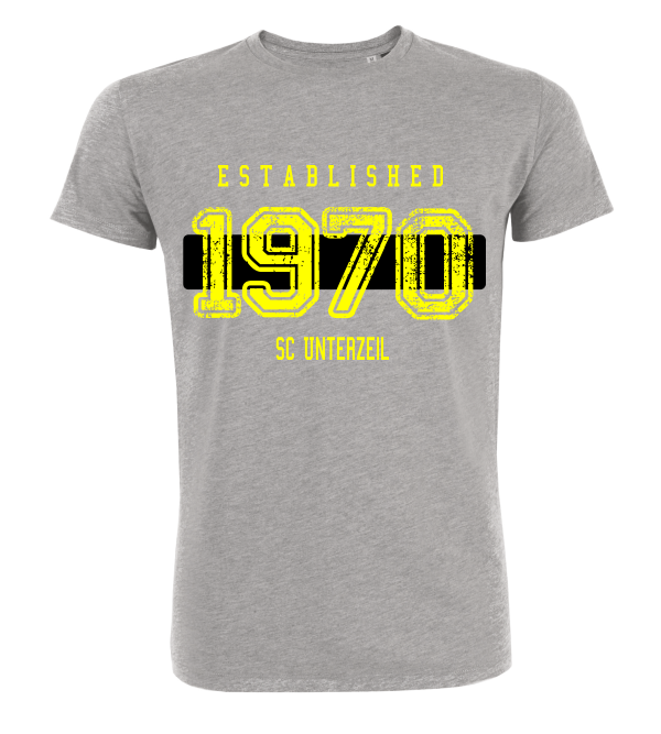 "T-Shirt ""SC Unterzeil Established"""