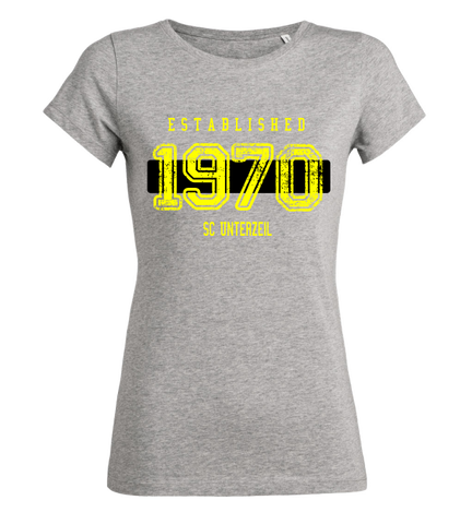 "Women's T-Shirt ""SC Unterzeil Established"""