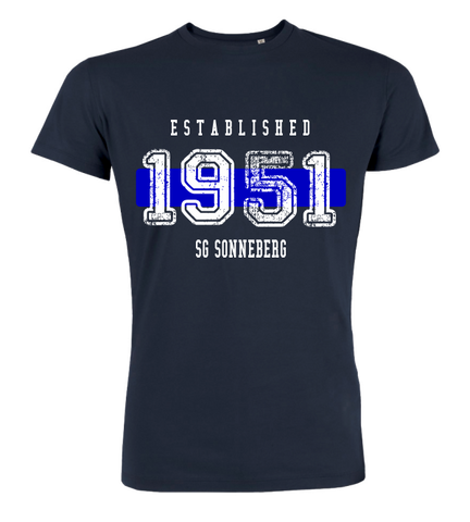 "T-Shirt ""SG Sonneberg Established"""