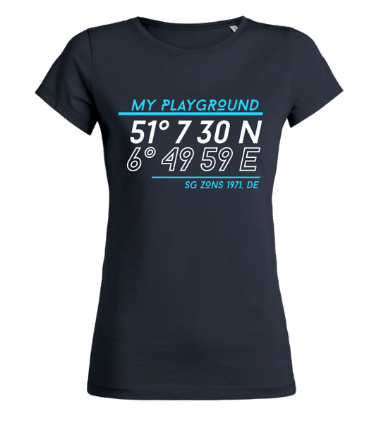 "Women's T-Shirt ""SG Zons Playground"""