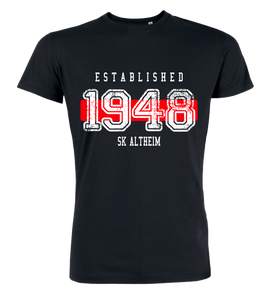 "T-Shirt ""SK Altheim Established"""