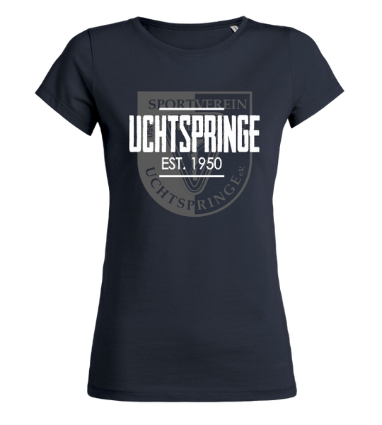 "Women's T-Shirt ""SV Medizin Uchtspringe Background"""