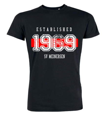 "T-Shirt ""SV Meinersen Established"""