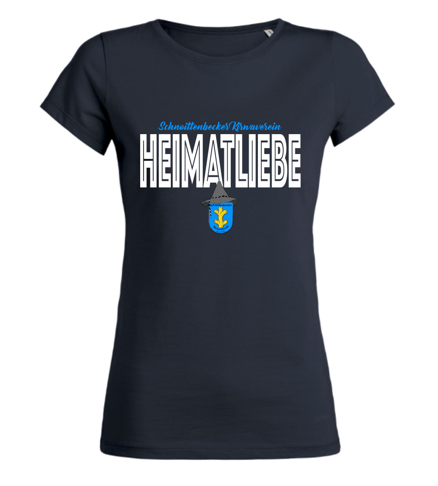 "Women's T-Shirt ""Schnoittenbecker Kirwaverein Heimatliebe"""