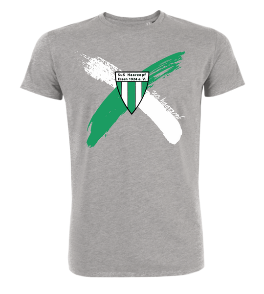 "T-Shirt ""SuS Haarzopf Cross"""