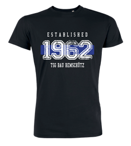 "T-Shirt ""TSG Bau Remschütz Established"""