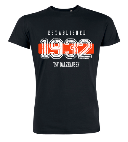 "T-Shirt ""TSV Balzhausen Established"""