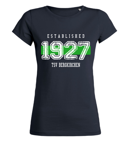 "Women's T-Shirt ""TSV Bergkirchen Established"""
