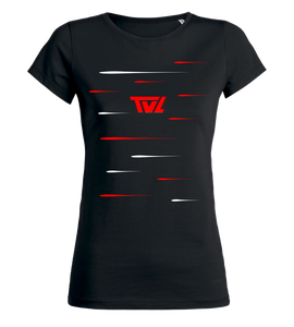 "Women's T-Shirt ""TV Letter Lines"""