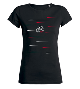 "Women's T-Shirt ""team alpha - Radsportteam Lines"""