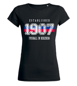 "Women's T-Shirt ""VfB Herzberg Established"""