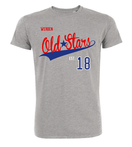 "T-Shirt ""Werden Old Stars Town Red"""