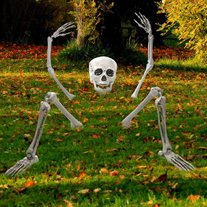 Creepy Graveyard Halloween Décor Ground Breaker Skeleton for Halloween Decorations