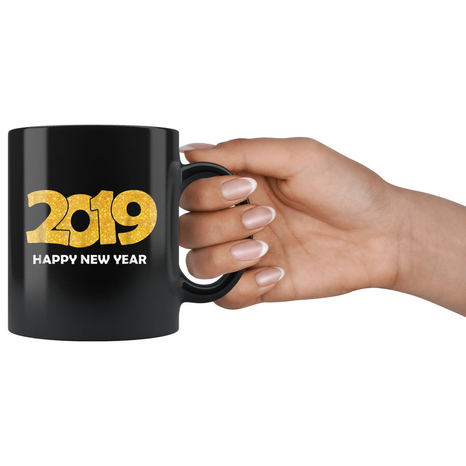 Happy New Year 2019 Mug