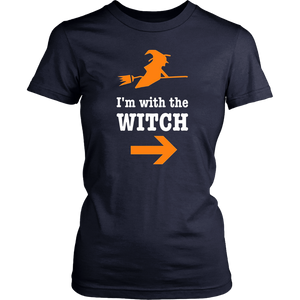 I'm With The Witch TShirt