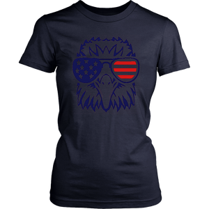 4th july American eagle flag- Independence Day t shirt