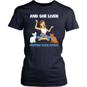 And She Lived Happily Ever After Shirt