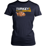 Turkey and Touchdowns TShirt Thanksgiving TShirt