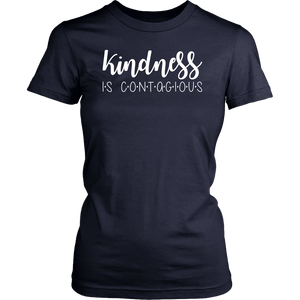 Kindness is Contagious T Shirt for Mom, Teacher gift