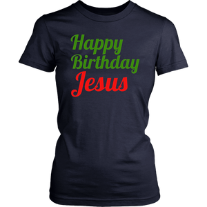 Happy Birthday Jesus T Shirt Christmas Gift Shirt