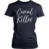 Cereal Killer T-Shirt - Funny Halloween T-Shirt