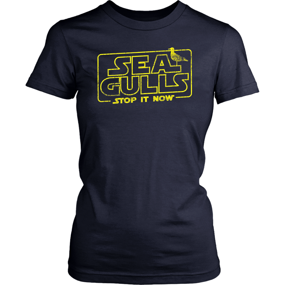 Seagulls Stop it now T shirt