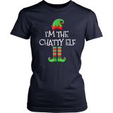 I'm The ChatTy Elf Matching Family Christmas T-Shirt