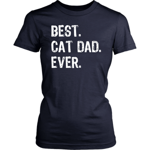 Best Cat Dad Ever Gift T-Shirt