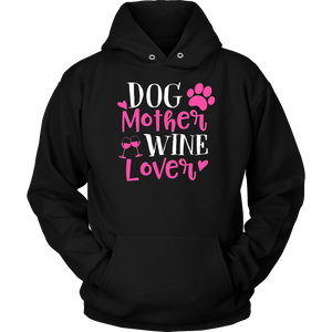 Doggie Mother Wine Lover Dog Mom Shirt Wine Lover Shirt