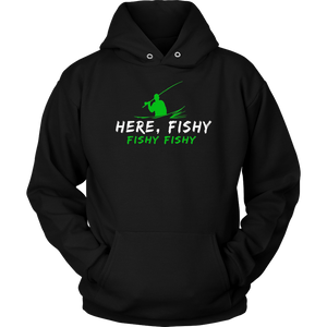 Funny Fishing Shirt, Here Fishy Fishy Father's Day Gift