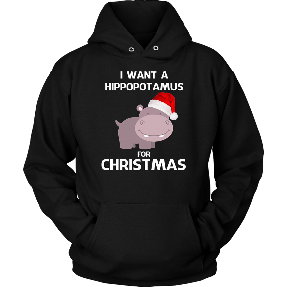 I Want A Hippopotamus For Christmas T Shirt