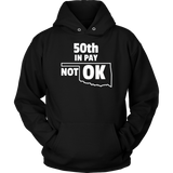 50th In Pay Is Not OK Teacher Protest Shirt